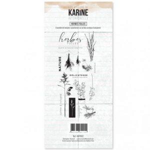 Sello acrílico Herbes folles Les ateliers de Karine | Marakiscrap.com