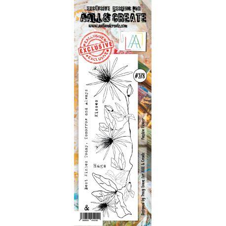 Sello acrilico Passion Flower All and Create 278