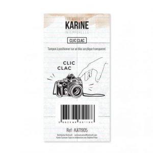 Sello acrílico Clic clac Intemporelle les ateliers de Karine | Marakiscrap.com