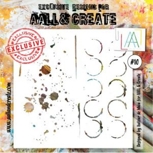 Stencil Aall and create 10