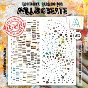Stencil Aall and create 13
