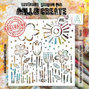 Stencil Aall and create 95