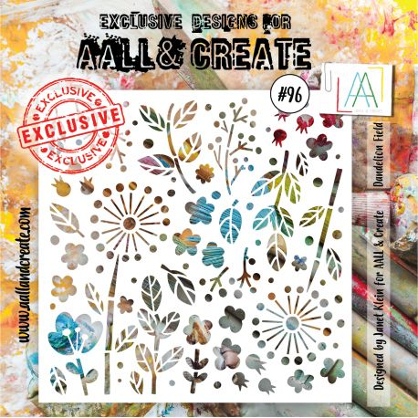 Stencil Aall and create 96