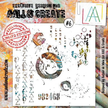 Stencil Aall and create 6