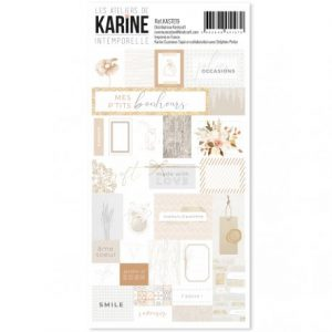 Stickers Intemporelle Les ateliers de Karine | Marakiscrap.com