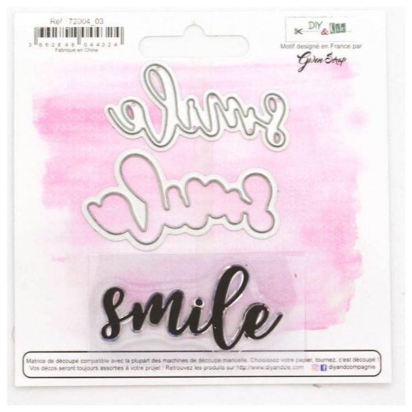 Troquel mas sello Smile 1