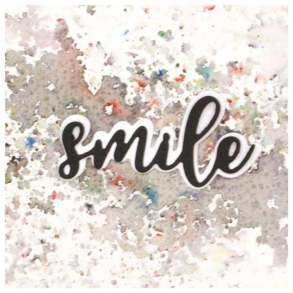 Troquel mas sello Smile 2