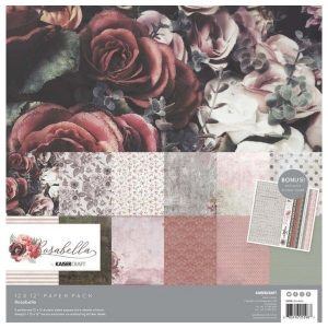 Coleccion de papeles Rosabella Kaisercraft