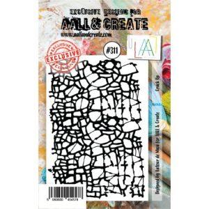 Sello acrilico Crack Up Aall and Create 311