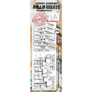 Sello acrilico Knibs Mushrooms Aall and Create 276