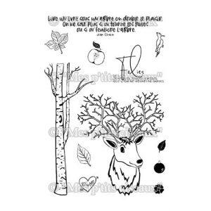 Sello dans les bois mes petits ciceaux | Marakiscrap.com