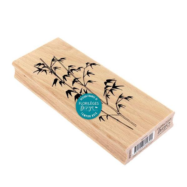 Sello de madera Bambou Florileges Design 1 | Marakiscrap.com