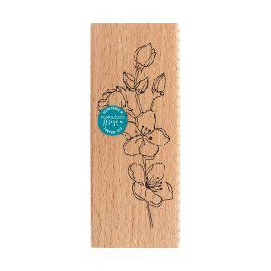 sello de madera branche sakura florileges design | Marakiscrap.com