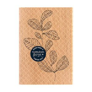 sello de madera feuillage courbe florileges design | Marakiscrap.com