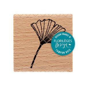 Sello de madera Gingko Florileges design | Marakiscrap.com