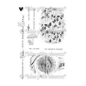Sello fonds nature mes petits ciseaux | Marakiscrap.com
