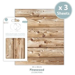 Papel decoupage Pinewood