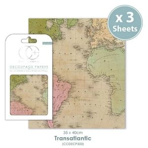 Papel decoupage Transatlantic