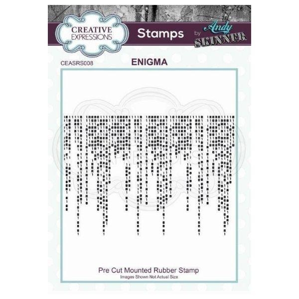 Sello caucho Enigma Creative Expressions