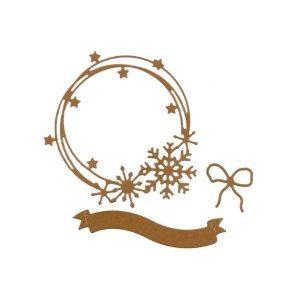 Troquel couronne dhiver 1 | Marakiscrap.com