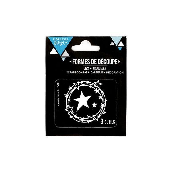 Troquel ronde d etoiles Florileges design | Marakiscrap.com