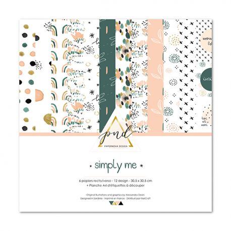 Coleccion simply me papernova design | Marakiscrap.com