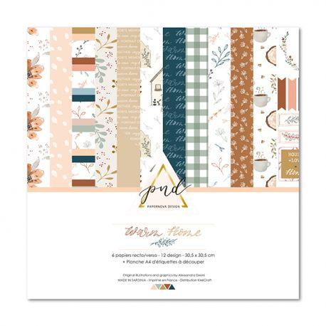 Coleccion Warm home Papernova design | Marakiscrap.com