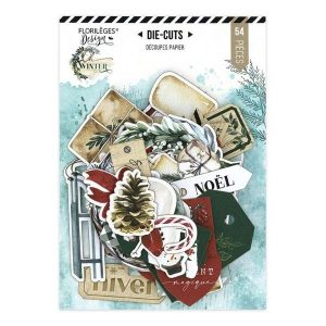 die cuts oh winter florileges design | Marakiscrap.com