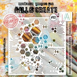 Stencil 112 aall and create | Marakiscrap.com