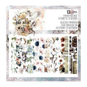 Art book 1 recortables 13 arts | Marakiscrap.com