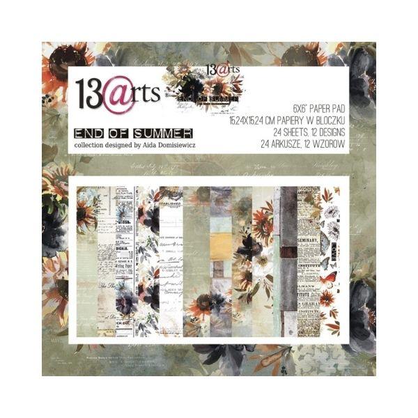 Coleccion de papeles 15x15 end of summer 13 arts | Marakiscrap.com