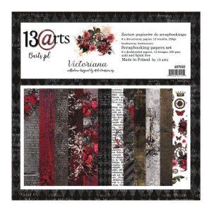 Coleccion de papeles 30 x 30 victoriana 13 arts | Marakiscrap.com