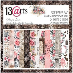 Colección de papeles 6x6 Rosalie 13 arts