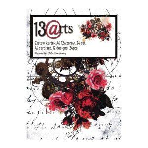 Kit de papeles A6 Victoriana 13 arts | Marakiscrap