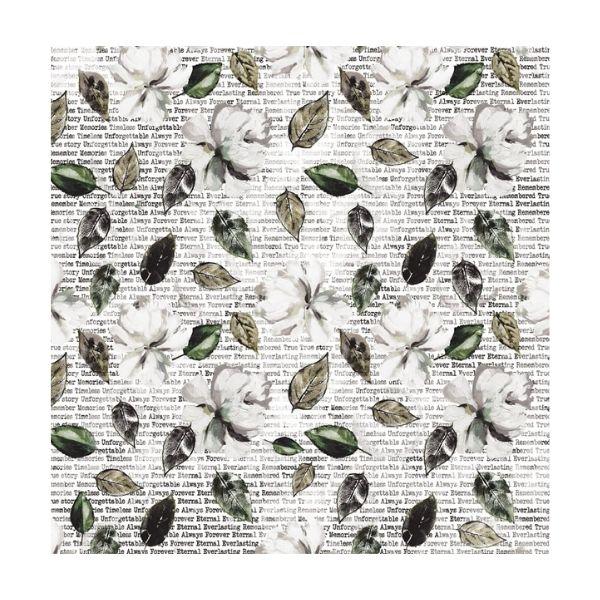 papel estampado 6x6 botanico