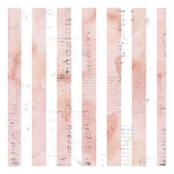 papel estampado rosa y texto sunrise