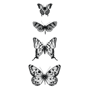 Sello acrilico Butterflies Kaisercraft
