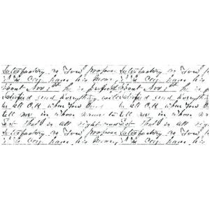Sello acrilico Script Kaisercraft