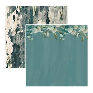 Papel Estampado Eucalyptus Native Breeze Kaisercraft | Marakiscrap.com