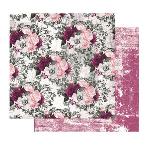 Papel Estampado Lovely Clusters Pretty Mosaic Collection Prima Marketing | Marakiscrap.com