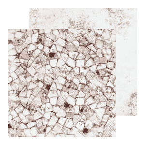 Papel Estampado Pretty Mosaic Collection Prima Marketing | Marakiscrap.com