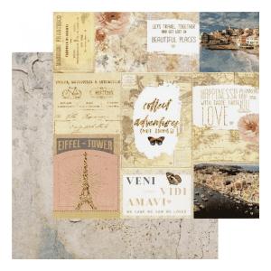 Papel Estampado Sorrento Capri Collection Prima Marketing | Marakiscrap.com