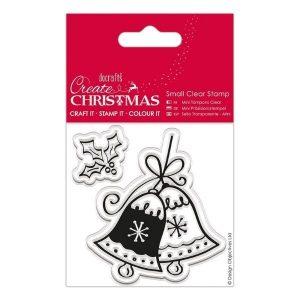 Sello Acrílico Christmas Bell Create Christmas Docrafts | Marakiscrap.com