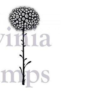 Sello Acrílico Glow Flower Lavinia Stamps   Marakiscrap.com