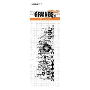 Sello Acrílico Grunge Collection 342 Studio Light   Marakiscrap.com