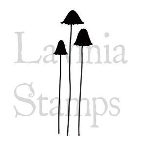 Sello Acrílico Quirky Mushrooms Lavinia Stamps   Marakiscrap.com