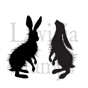 Sello Acrílico Woodland Hares Lavinia Stamps | Marakiscrap.com