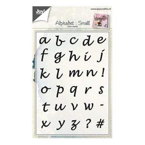 Sellos Acrílicos Alphabet Small Joy Crafts   Marakiscrap.com