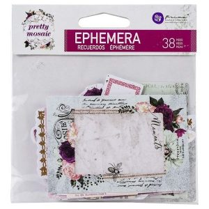 Die Cuts Ephemera Pretty Mosaic Prima Marketing | Marakiscrap.com
