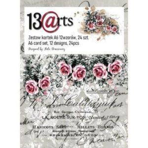 Kit de papeles A6 Rosalie 13 arts | Marakiscrap.com